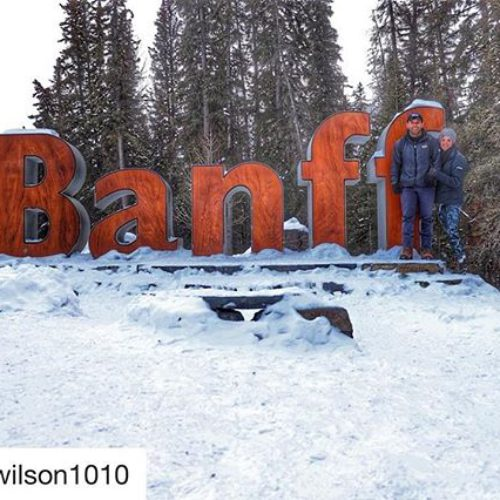 "#Repost from @hwilson1010 ・・・ Banff, you give the term ""Winter …"