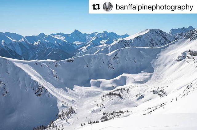 #Repost from @banffalpinephotography ・・・ The Paradise Bowl at #TobyCreekAdventures. Spot …