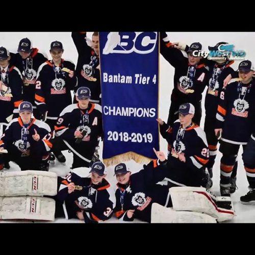 CONGRATULATIONS !! @cvrockies Bantams who are bringing home hockey GOLD …