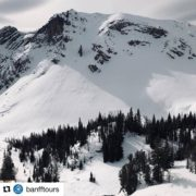 """#Repost from @banfftours ・・・ """"Snowmobiling up to 8000 ft in …"""