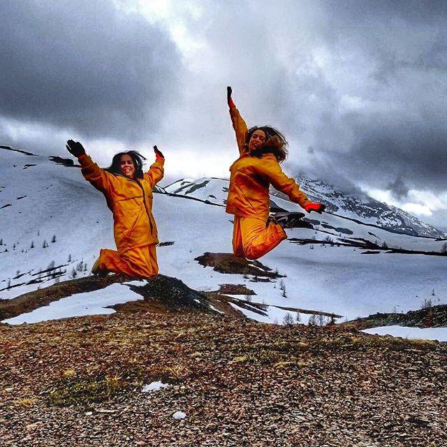 Jumping for joy at Paradise Ridge today. #tobycreekadventures ???? @jtlete