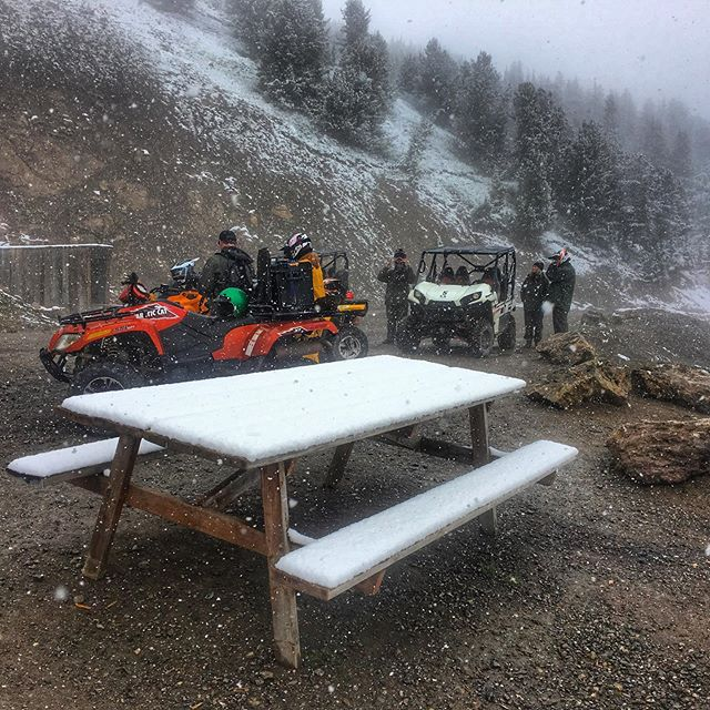 The day before #summer arrives we had fresh #snow at …
