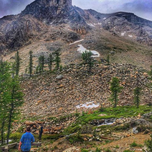 Exploring at the foot of The Reaper!! Paradise Basin. . …
