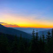 Good Morning from Paradise! Sunrise over the #CanadianRockies. Another beautiful …